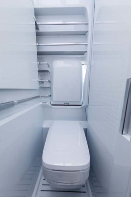 VW California XXL washroom WC