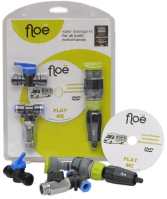 Floe motorhome draining down kit