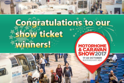 Motorhome and Caravan Show 2017 winners