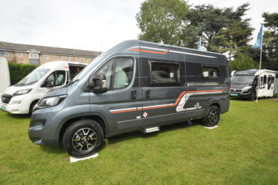 Swift Select 122 Motorhome exterior