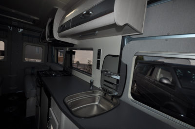 Auto-Sleeper Fairford Kitchen