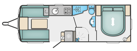 Swift Sprite Quattro EB Floor Plan
