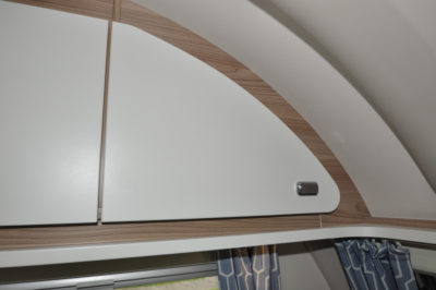 Swift Sprite Quattro EB cupboards
