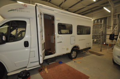 Controlling damp and water ingress in your motorhome