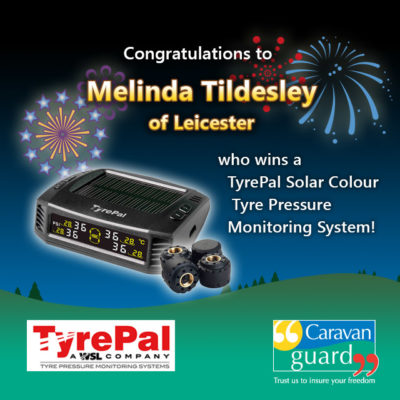 TyrePal's new solar colour TPMS winner