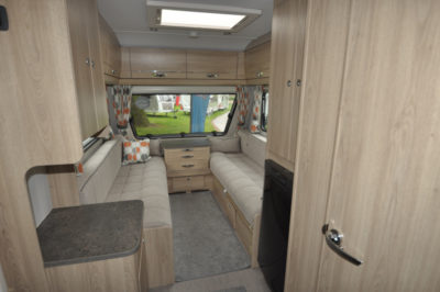 Xplore 422 Interior looking forward