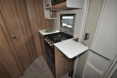 Swift Escape 604 Kitchen