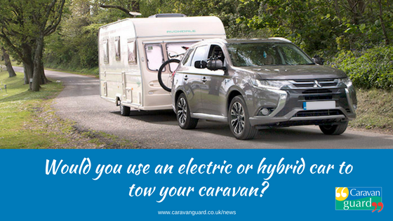 Would You Use An Electric Car To Tow Your Caravan Png