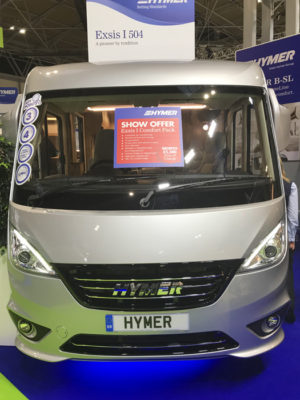 Hymer Exsis I 504 front