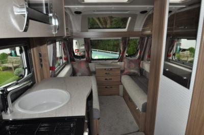 Swift Challenger 590 Interior