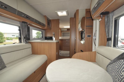 Auto-Trail Delaware HB Interior looking back
