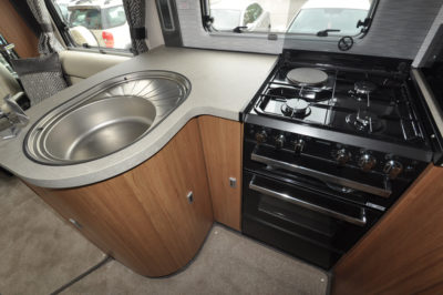 Auto-Trail Delaware HB Kitchen