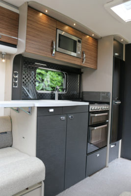 2019 Swift Eccles 480 kitchen