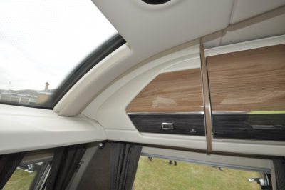 Swift Elegance Grande 560 sky light and storage