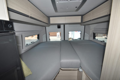 Adria Twin 640 bed