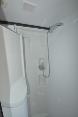 Adria Twin 640 shower 1