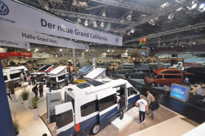 Grand California 680 motorhome at show