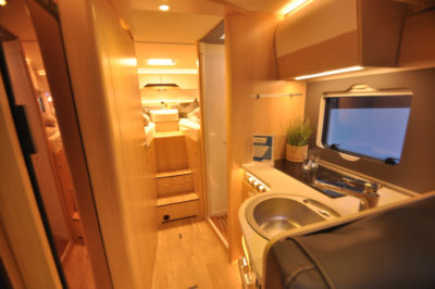 Hymer BMC motorhome internal