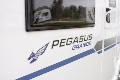 Pegasus Grande decal