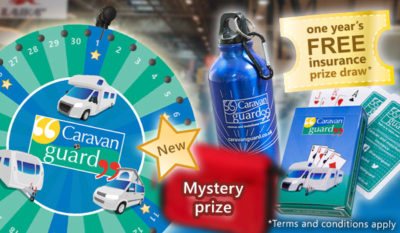 2018 Motorhome and Caravan Show prizes