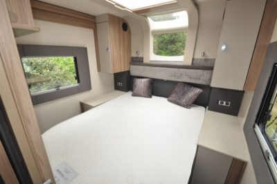 Swift Kon Tiki 650 bed wide