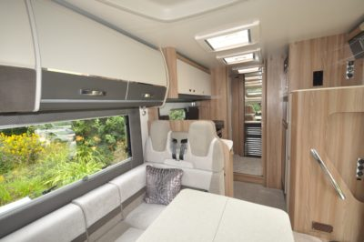 Swift Kon Tiki 650 interior looking back