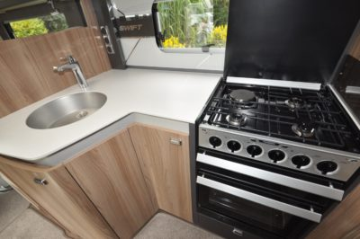 Swift Kon Tiki 650 kitchen