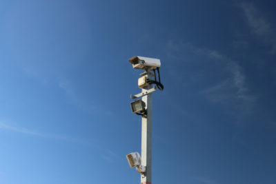 CCTV at secure storage site