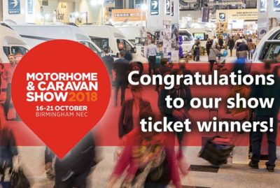 2018 Motorhome and Caravan Show ticket winners! thumbnail
