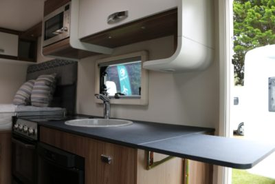 Swift Escape Compact 205 kitchen