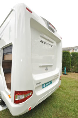 Swift Escape Compact C205 Exterior Rear