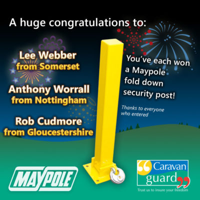 Maypole security post competition winner