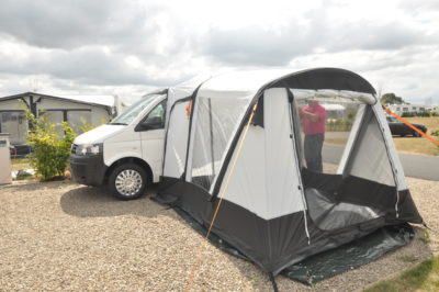 Dorema Starcamp Quick 'N Easy Air 265 motorhome awning