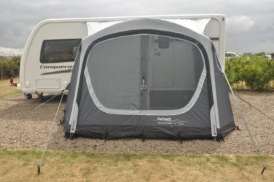 Outwell Cove 340 air caravan awning
