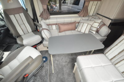 2019 Auto-sleeper symbol plus seating
