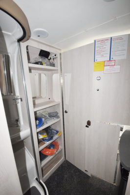 2019 Auto-Sleeper Symbol Plus washroom door