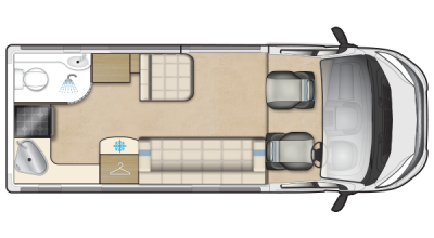 Auto-Sleeper Symbol Plus floorplan