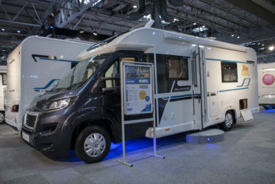 Bailey Alliance motorhome