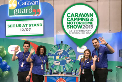 Caravan Guard celebrates 20 years at the NEC Caravan Shows thumbnail