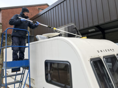 Video: How to clean your caravan roof thumbnail