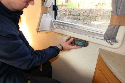 Motorhome damp checks