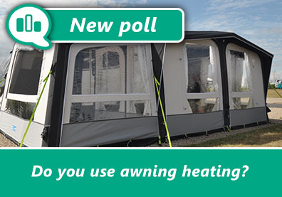 Poll: Do you use heating in your caravan awning? thumbnail