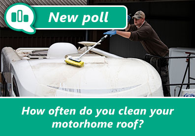 Poll: How often do you clean your motorhome roof? thumbnail