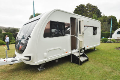 2019 Swift Elegance 560 caravan