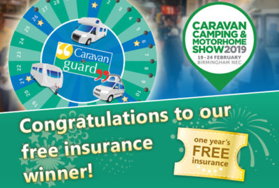 Caravanner is a free insurance winner with Caravan Guard thumbnail