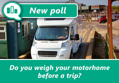 Poll: Do you weigh your motorhome before every trip? thumbnail