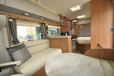 2019 Auto-Trail Tracker EB motorhome open plan