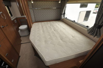 2019 Auto-Trail Tracker EB motorhome bedroom
