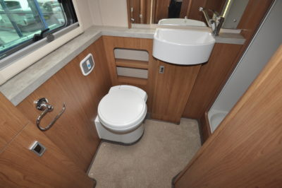 2019 Auto-Trail Tracker EB motorhome washroom