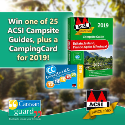 ACSI camping card competition